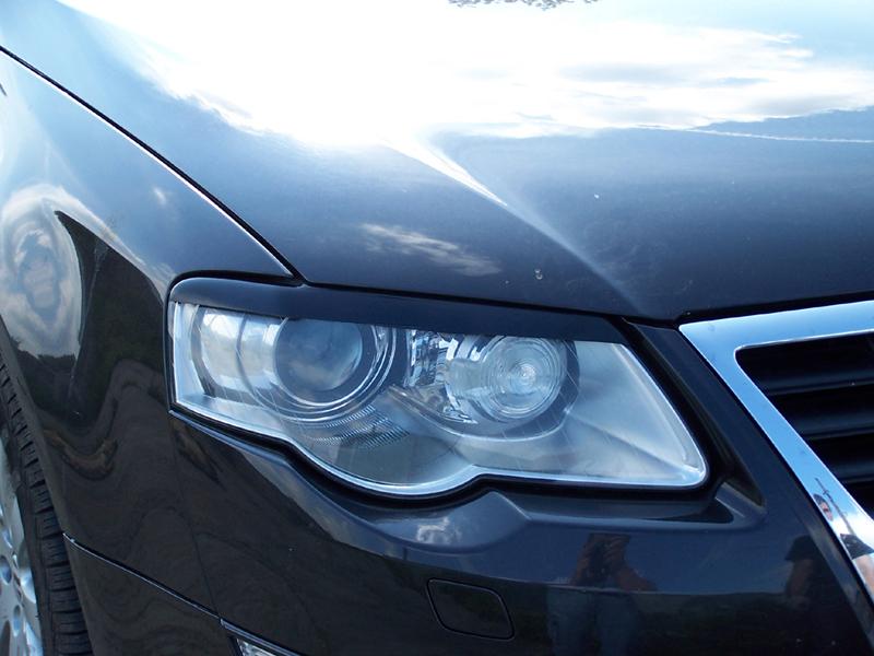Brewki Na Reflektory Abs Czarne Model 2 Na Lampy Przednie