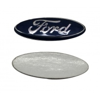 FORD - aluminiowy emblemat do kluczy , reperaturka do pilota, 21x7mm