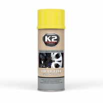 K2 Color Flex żółty 400 ML guma w sprayu plasti spray