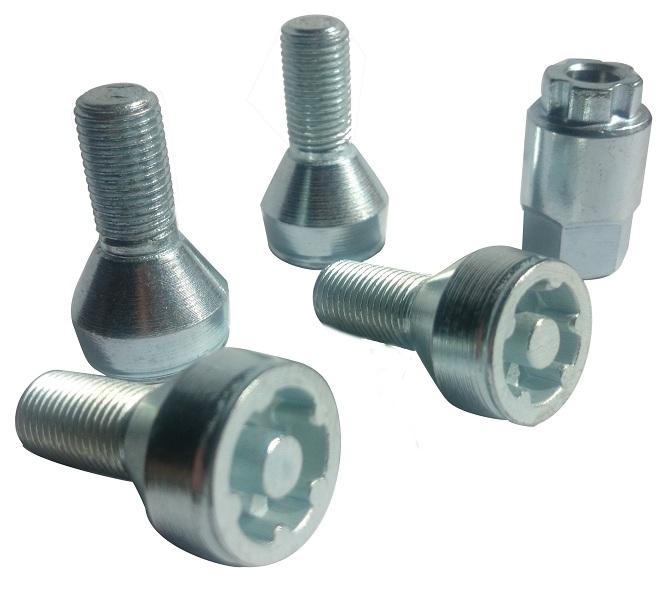 Zabezpieczenia Kół śruby Z468 Saab 900 5110 Felgi Aluminiowe